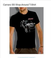 CHEVROLET CAMARO SS T-SHIRT - Wrap Around Official USA Licensed M L XL Chevy