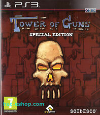Tower of Guns Sony Playstation 3 PS3 FPS Shooter Game