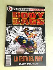 play press presenta body bags N° 3 la festa del papà