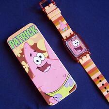 "WATCH Original Spongebob Squarepants ""PATRICK"" 2004 Collectible Burger King BNIB"