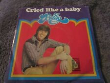 Bobby Sherman, Cried Like A Baby/Is Anybody There  w/ Picture Sleeve