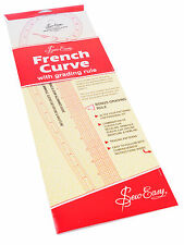 Sew Easy French Curve Imperial Ruler - NL4198