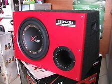 "UNICARS XLINE 06519/A SUBWOOFER IN CASSA 12"" ATTIVO"