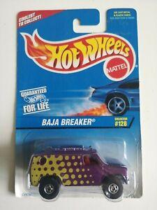 🚓 HOT WHEELS HW BLUE CARD 1997 collector 128 BAJA BREAKER purple van