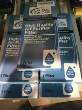 Lot Of 5 Hamilton Beach TrueAir Filter Crucial Air Replacement Purifier 04383
