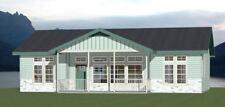 46x30 House -- 3 Bedroom 2 Bath -- PDF Floor Plan -- 1,338 sq ft -- Model 1