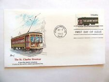 "October 8th, 1983 Honoring ""The St. Charles Street Car"" First Day Issue"