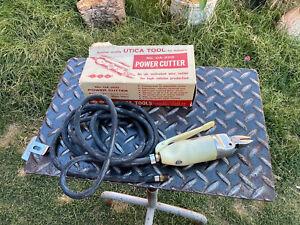 Rare UTICA UA-200 Air Power Cutter Shear Scissor Cutting Wire Cutting Pat Pend.