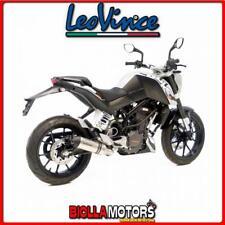 8725 SCARICO LEOVINCE KTM DUKE 125 2016- LV ONE INOX/INOX DARK