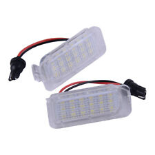 2xWhite 18 LED License Number Plate Light Replace Fit For Jaguar XF X250 2007-15