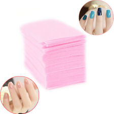 Nail Polish Remover Cleaner Manicure Wipes Lint Free Cotton Pads Paper Nails Art