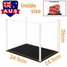 AU Self-Install Acrylic Display Box Clear 36cm H Perspex Plastic Case Dustproof