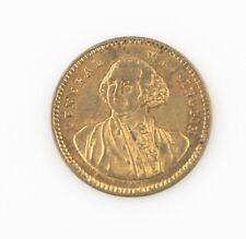 1850's Germany George Washington Token UNC Nuremberg Type II Lauer Spiel Munze