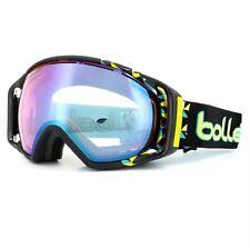 Bolle Ski Snow Goggles Gravity 21151 Black Diagonal Modulator Vermilion Blue