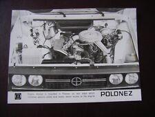 FSO Polonez 1500 Pressefoto / Press-picture / Zdjęcie prasowe