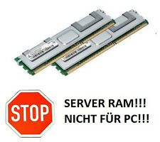 2x 4GB 8GB RAM Intel Server Board S5400SF SC5400RA 667 Mhz FB DIMM DDR2 Speicher