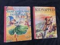 KIDNAPPED Robert Louis Stevenson Early Reader Series & Hans Andersons Fairytales