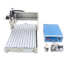 Usb 4 Axis 3040 Cnc Router Engraver Desktop Carving Milling Engraving Machine Us