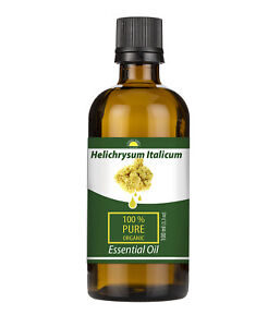 Helichrysum Italicum Organic Certified 100% Pure - Immortelle Essential Oil 50ml