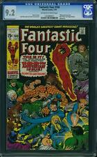 Tu Four #100 US Marvel 1970 Jack Kirby Presque comme neuf CGC 9.2