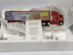 Matchbox Freightliner Special Edition McDonald's 45th Anniversary 1:58 1997 Made