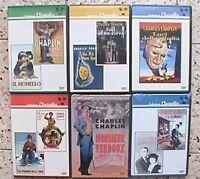 charlie chaplin collezione chaplin charles chaplin collection 6 dvd rari 2001 gq