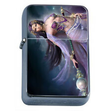 Hot Anime Witches D12 Flip Top Dual Torch Lighter Wind Resistant