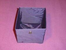 Ikea Aufbewahrung Box 2,5 Liter lila NEU mit Ringkloben O-Ring Ring der O Deko
