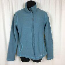 Cloudveil Womens Medium Fleece Jacket Blue Coat Jackson Hole Wyoming