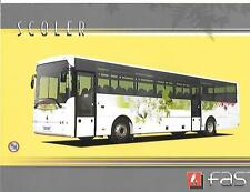 'FAST EUROPE SCOLER'  BUS COACH SALES BROCHURE LATE 2000's?