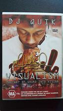 DJ Quick Visualism [ DVD ] Multi Region, Fast Next Day Post...6633