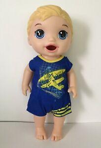 Baby Alive Boy Doll Sweet Spoonfuls Hasbro Blond Hair