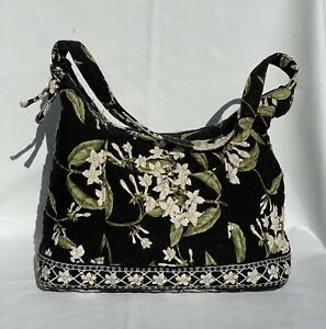 Vera Bradley Shoulder Handbag Tote Purse Jasmine Pattern Floral