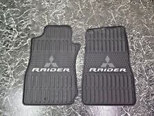 NEW OEM ALL WEATHER MITSUBISHI RAIDER FLOOR MATS 07 08 09 FRONTS