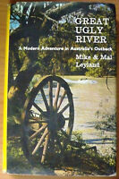 Great Ugly River, by Mike &  Mal Leyland - HB/DJ - Australia's Darling River