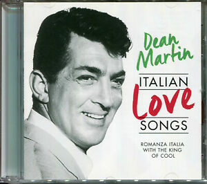 DEAN MARTIN ITALIAN LOVE SONGS ROMANZA ITALIA WITH THE KING OF COOL CD NEW