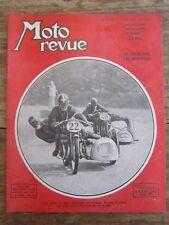 ANCIENNE REVUE MOTO REVUE N° 1039 JUIN 1951 SIDE CAR