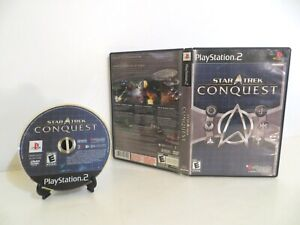 Star Trek Conquest (Sony, PS2, PlayStation 2, 2007) CIB