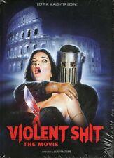 Violent Shit The Movie Blu Ray DVD & CD Mediabook Luigi Pastore uncut limited ed