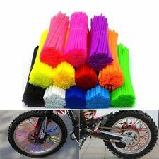 Universal Wheel Rim Spoke Wrap Skins Cover Motocross Dirt Bike Accessories Decor