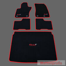 Mattenprofis Velours Fußmatten + Kofferraummatte für Fiat 500X ab Bj. 09/2014 ro
