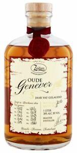 Zuidam Oude Genever 3YO 1,0L - Flasche Jenever  