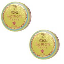 Figs & Rouge 100% Natural Lip Balm Lemon Berry 0.6oz x2 Free Shipping Made in UK