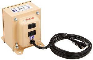 3-7 Days to USA UPS Delivery. Nissyo NDF-1500U 120V-100V 1500W Down Transformer