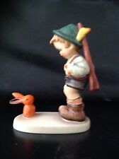RARE - MJ HUMMEL Goebel figurine, SENSITIVE HUNTER, #6/0 , 'X' style, TMK 2