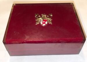 Old VINTAGE Lord Elgin 21 Jewels Shock Resistant Durapower Watch Lucite Case Box