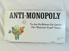 Anti-Monopoly 1974 Board Game 100% Complete Excellent Plus Condition Bilingual