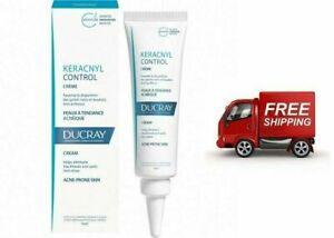 Ducray Keracnyl Control Cream Acne Prone Skin, Against SPOTS 30ml