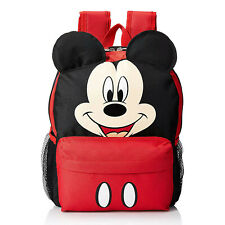 """Disney Mickey Mouse Backpack Kids School book bag toy travel games bag 13"""""""