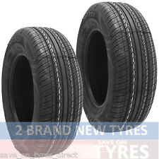 2 2056515 Budget 205 65 15 205/65 New Car Tyres x2 VR High Performance